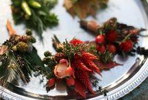 Foody Wedding Flowers