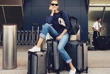 Flight clothes luggage