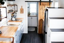 Tiny Home / Interior design and solutions for a small space.