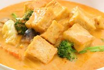 Tofu Curries / Mild, Spicy, Hot and Super Hot Tofu Curries that'll have your mouthwatering and then breathing fire!