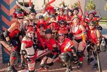 CRG PR / Images from Cajun Rollergirls public relations