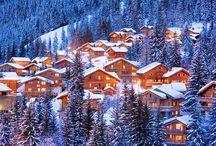 En route vers l'hiver 2014 !  / L'été est fini, l'occasion de se replonger dans les magnifiques paysages d'hiver que vous pourrez retrouver d'ici quelques mois dans nos stations de ski ...  / by Madame Vacances