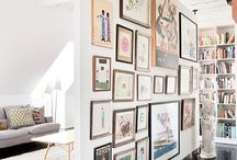 Art wall / Bedroom dreams