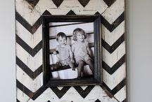 Csináld magad képkeretek - Picture Frame DIY Ideas
