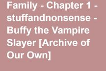 Buffy the Vampire Slayer Fic Recs