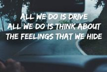 Halsey / All we do is drive