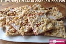 teilchen& Blechkuchen