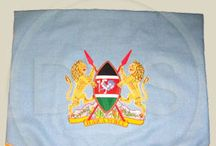 Embroidered Flag/Banners