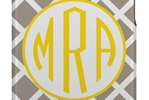 marvelous monograms / by Catherine-Clare Kelly