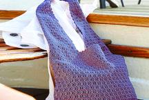 Crochet totes