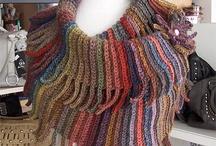 Haken sjaals en poncho's