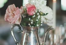 Wedding and shower center pieces