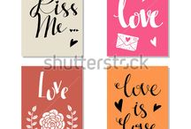 cards / Card baby, love, friend, girl, boy, home