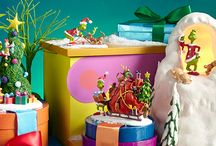 Department 56 - Grinch Village / Enjoy this whimsical collection inspired by a favorite from Dr. Seuss, How The Grinch Stole Christmas! This classic story is brought to life with charming pieces from Who-ville. You might even hear some caroling Whos!