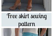Skirt pattens