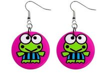 Goofy Earrings / Funny novelty earrings to keep or give as gifts.