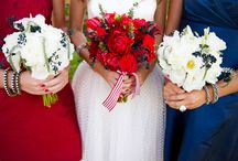An all Americana Country wedding... / Hooray for the Red White & Blue...Hot Dogs Apple Pie & Coca Cola....