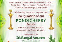 New Showroom opening @ Pondicherry / Our Pondicherry Branch will inaugurate by SRI.GANGAI AMARAN