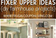 Budget friendly farmhouse decor