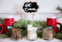 Design-It-Yourself Hot Cocoa Bar / As featured in HuffPost Weddings