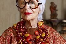 Iris Apfel... Style Icon / What a great lady!!!!