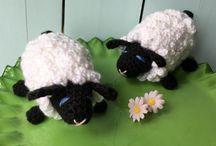 Crochet Lamb Sheep Pattern Pinterest, Crochet Sheep Pattern, PDF, Easter Crochet Pattern, Easter Lamb, Crochet Toys, Amigurumi, Crochet for Kids