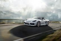PORSCHE BOXSTER SPYDER / Porsche, this name will bring us into a world where all fancy and fast paced. This German manufacturer has a collection of luxury cars in many versions, where every car is a version of it in category sport.