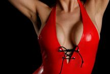 Latex Lingerie / Sexy & Shiny latex lingerie by Nimue's Latex Fashions!