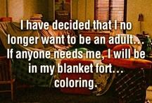 no to adulthood