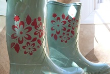 Happy (Stenciled) Feet! / by StencilSearch