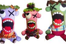 cojines zombie / cojines super suavecitos en forma de Zombie que te acompañarán siempre y jamás te morderán.