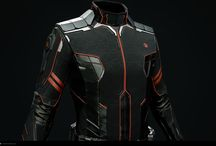 Character Uniform Scifi