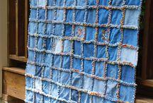 Couverture jeans