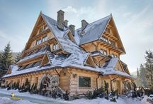 Piękne domy góralskie