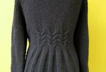 swetry na drutach