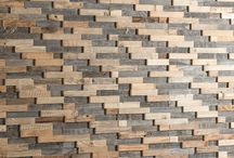 Deconstructed Wooden Wall panels / Wooden wall panels made in Latvia using deconstructed wood