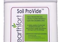 Earthfort Products & Services / Our products increase soil beneficial microbes and condition soils for optimal plant growing conditions. Our soil testing services tell you which organisms are in your soil or compost and how to get them balanced for better plant production!