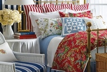 BEDROOMS I LOVE / Lovely ideas to improve the quality of the time I spend with the one I love. Always looking to make our bedroom space even better. / by Linda Hibner