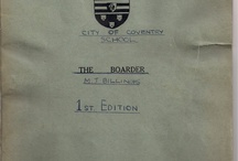 The Boarder / Images related to the City of Coventry Boarding school magazine - 1958 - 1960 http://wyrefarmed.blogspot.co.uk/