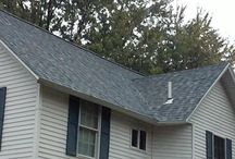 IKO Dynasty Fulton Illinois / We removed the old Asphalt Shingles and installed new IKO Dynasty Castle Grey Shingles