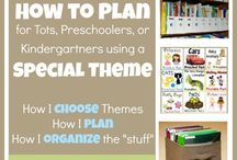 Kinder planning and organizing