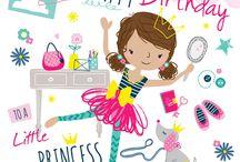 Birthday greetings kids