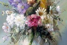 Obrázky maľované