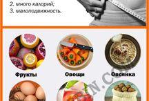 Правильное питание / Диеты, полезные продукты, соки и другие напитки.