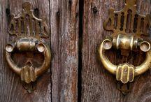 Kapı tokmağı-kilit ve anahtar sanatı