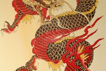 Monsters & Creatures - Dragons - Chinese
