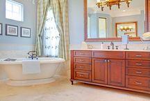 Ideas for Master Bath / by Belinda Stuetelberg