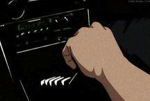Initial D / Takumi, Itsuki, Ryosuke, Keisuke, AE86 i inne