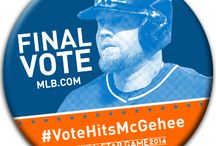 #VoteHitsMcGehee / Baseball, MLB, final vote, Casey McGehee