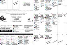 LAMP CHC Calendar Schedule / Upcoming Monthly Events for LAMP CHC
